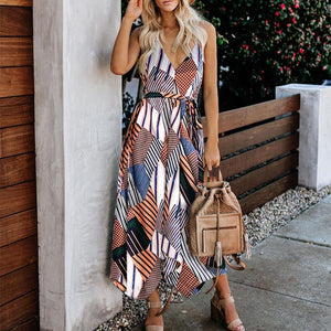 Bohemian Holiday Harness Dress