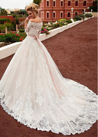 Fashion And Beautiful Blake Lively Wedding Dress For Girl