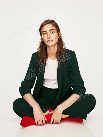 Office Lady Business Coat Female Cardigans