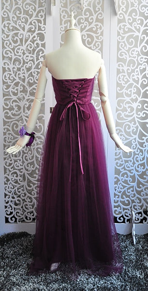 bridesmaid dresses Elegant long wedding party dress Plus size royal prom sister Guest bridesmaid dress Tulle Robe Soiree 960