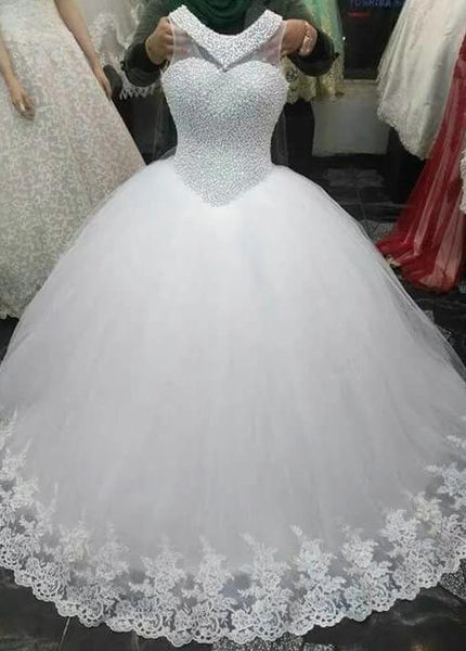 Fashion And Beautiful Elegant Wedding Dresses For Girl