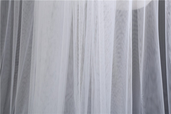 Elegant Wedding Accessories 3 Meters 2 Layer White Ivory Wedding Veil