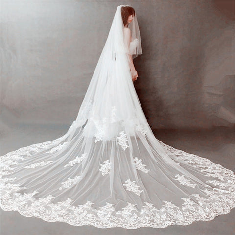 New Style 2 Layer wedding veil
