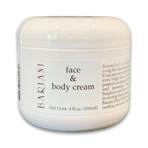 Bariani Olive Oil Company Face & Body Cream