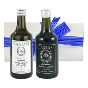 Bariani's Olive Oil and Vinegar Gift Set