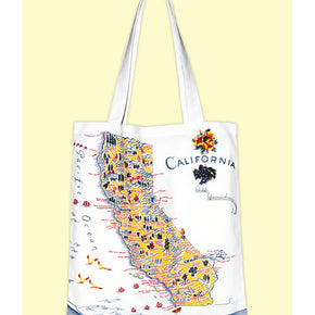 "California Blue Market Tote, 14"" x 16"""