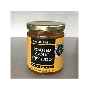 Carol Hall's Roasted Garlic Pepper Jelly