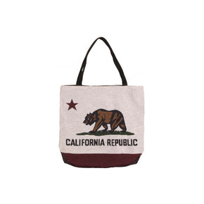Simply Home Flag of California Tote Bag