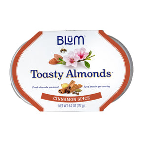 Cinnamon Spice Toasty Almonds