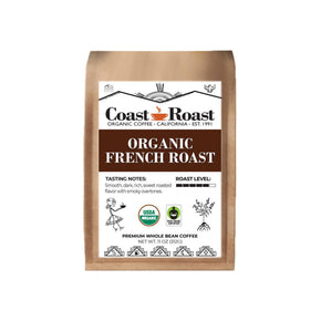 Coast Roast French Roast Coffee (Organic, Whole Bean)