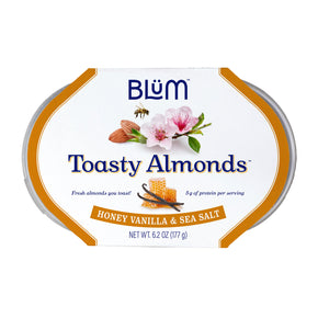 Honey Vanilla & Sea Salt Toasty Almonds