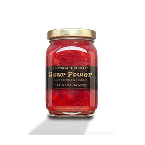 Mountain Fruit Company Sour Power - Sour Cherry & Rhubarb Jam