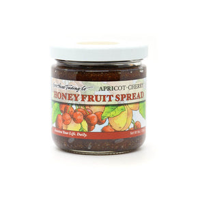 Moon Shine Trading Co.California Apricot-Cherry Honey Spread