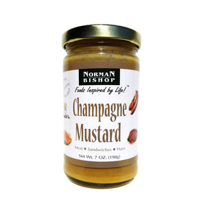 Norman Bishop Champagne Mustard - 7 oz.