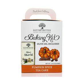 Pumpkin Spice Tea Cake Baking Kit