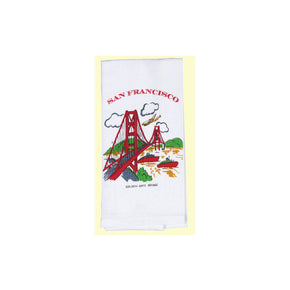 San Francisco Golden Gate Bridge Souvenir Towel
