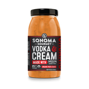 Vodka & Cream Pasta Sauce