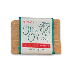 Tuscan Olive Oil Soap - Essenze di Cinnamon