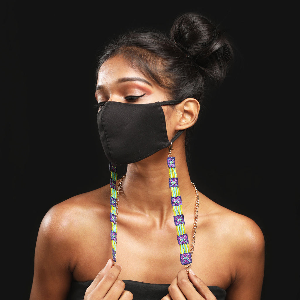 Dhaka Handcrafted Mask Chain