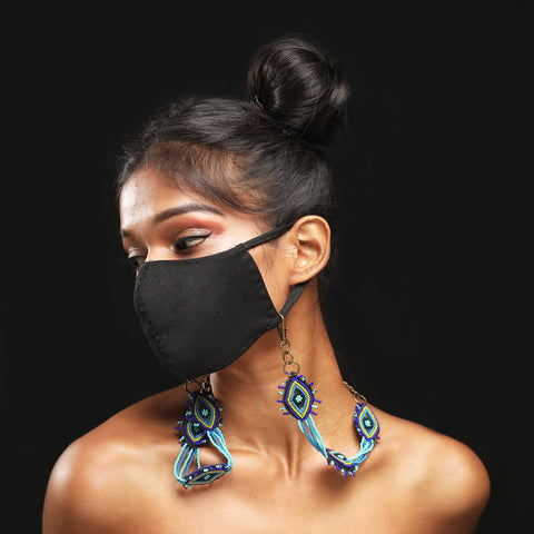 Evil eye Handcrafted Mask Chain