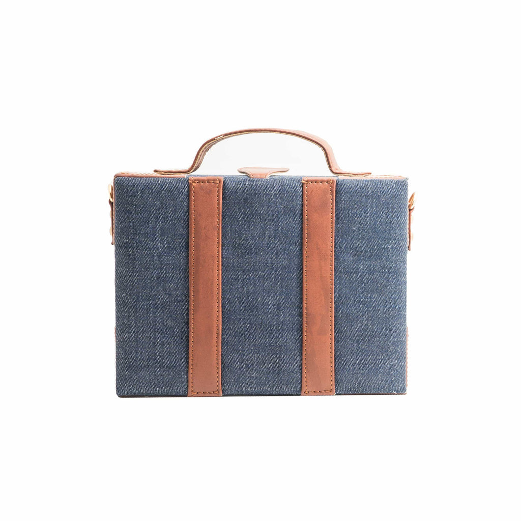Brown Patch Sling Bag ,, gonecasestore - gonecasestore