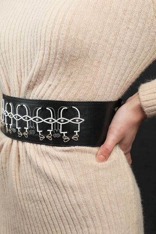 Naqab handcrafted waist belt By gonecase
