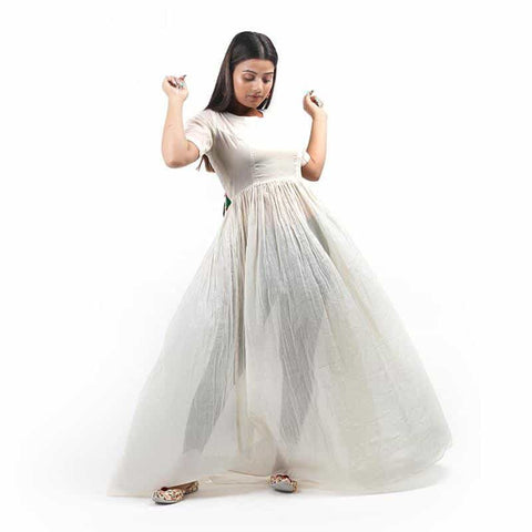 White Bubble Dress by Gonecase - [product_type] - Gonecase