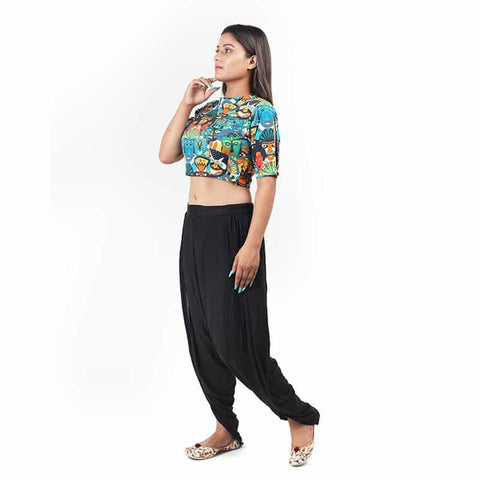 Tribal Printed Crop Top by Gonecase - Apparel - Gonecase