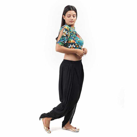 Tribal Printed Crop Top by Gonecase ,Apparel, gonecasestore - gonecasestore