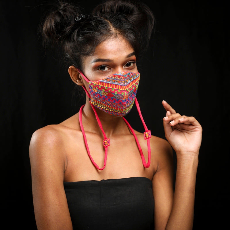 dhaka handcrafted masks by gonecase
