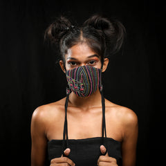 Black Faces Mask Handcrafted by Gonecase