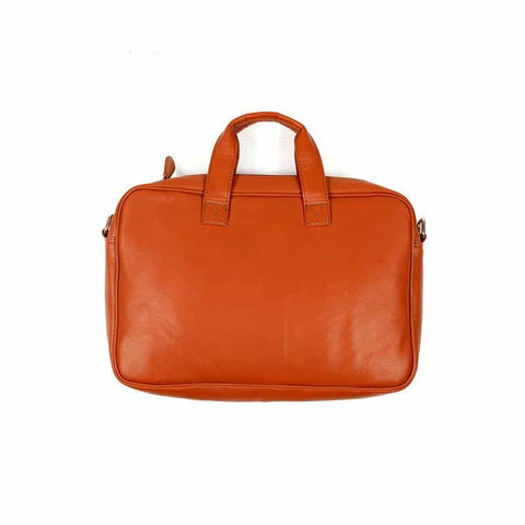 Basic Tan Color Laptop Bag by Gonecase