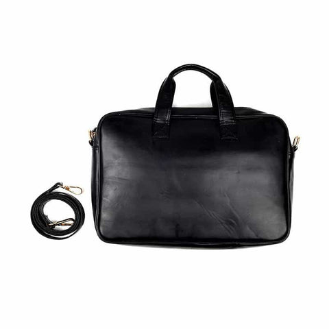 Basic Black Laptop Bag by Gonecase ,laptop bags, gonecasestore - gonecasestore