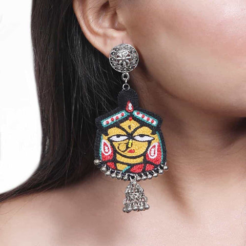 Handmade Jamini Roy Earring ,Earrings, gonecasestore - gonecasestore