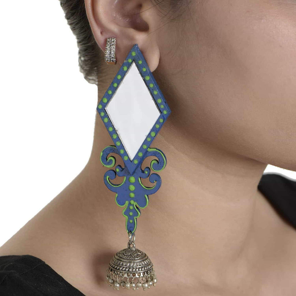 Barfi Earrings ,, gonecasestore - gonecasestore