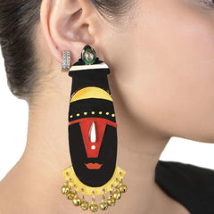 Balaji Earrings ,Earrings, gonecasestore - gonecasestore