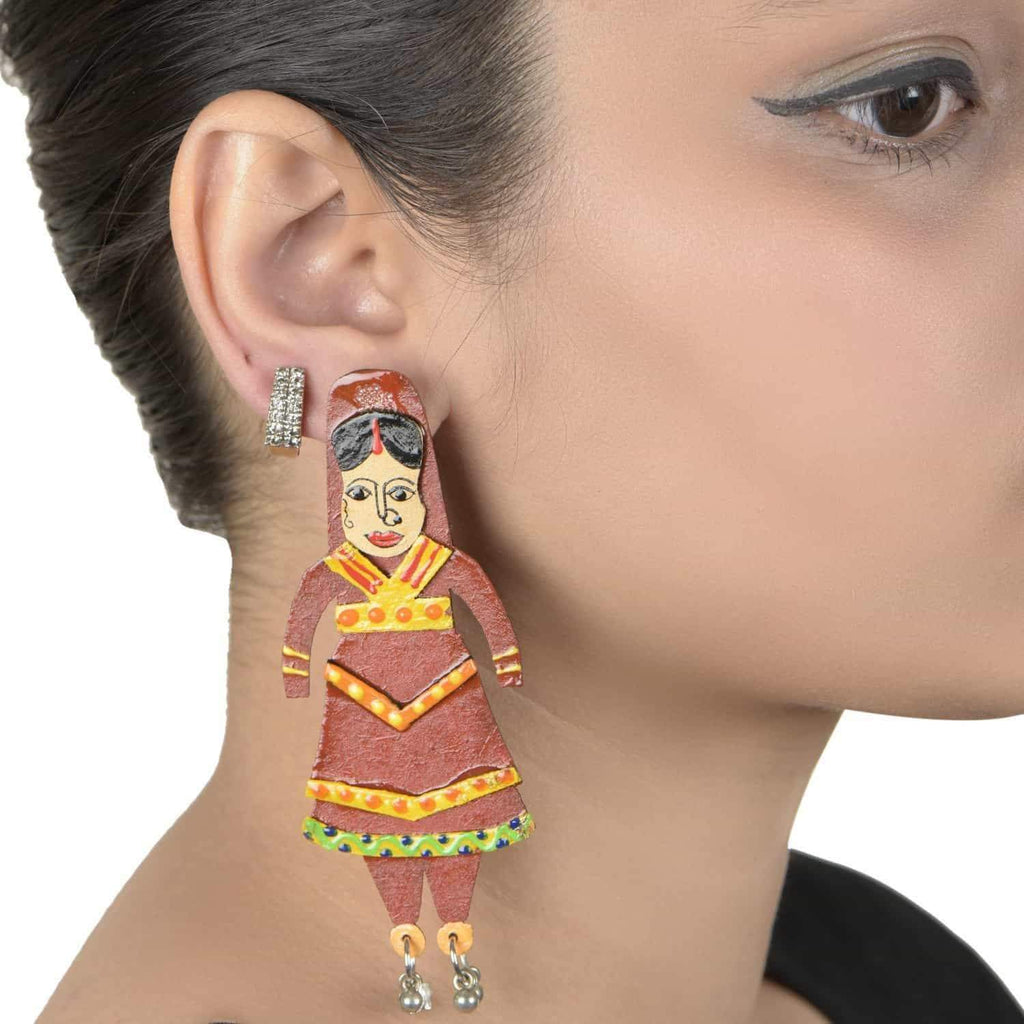 Katputli Earrings - [product_type] - Gonecase