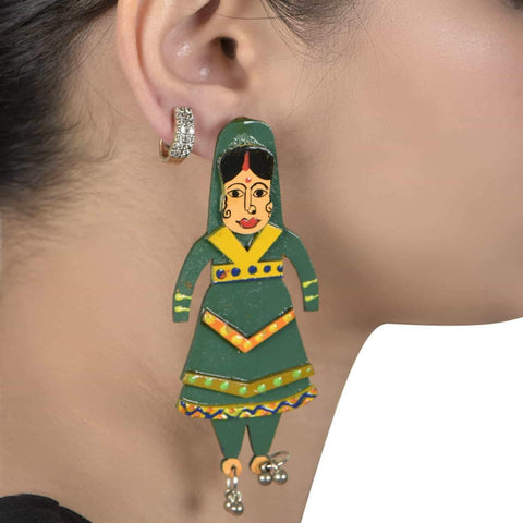 Katputli Earrings ,, gonecasestore - gonecasestore