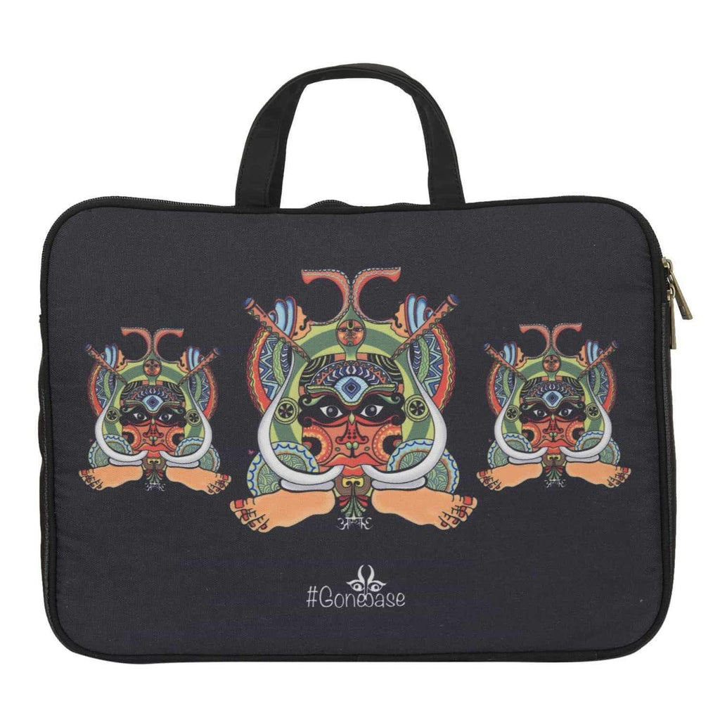 Face illustrated Laptop Sleeve - [product_type] - Gonecase