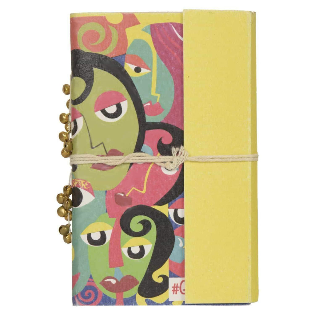 Many Faces Printed Diary - [product_type] - Gonecase