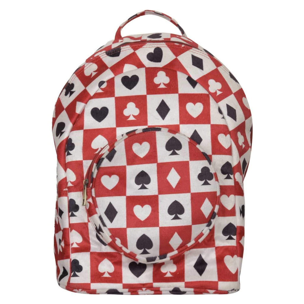 Play Card Printed Backpack by Gonecase ,backpack, gonecasestore - gonecasestore