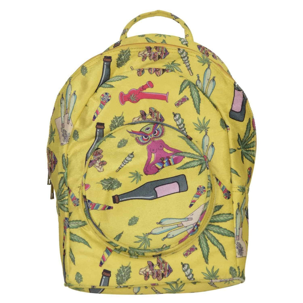 Hash Printed Backpack - backpack - Gonecase