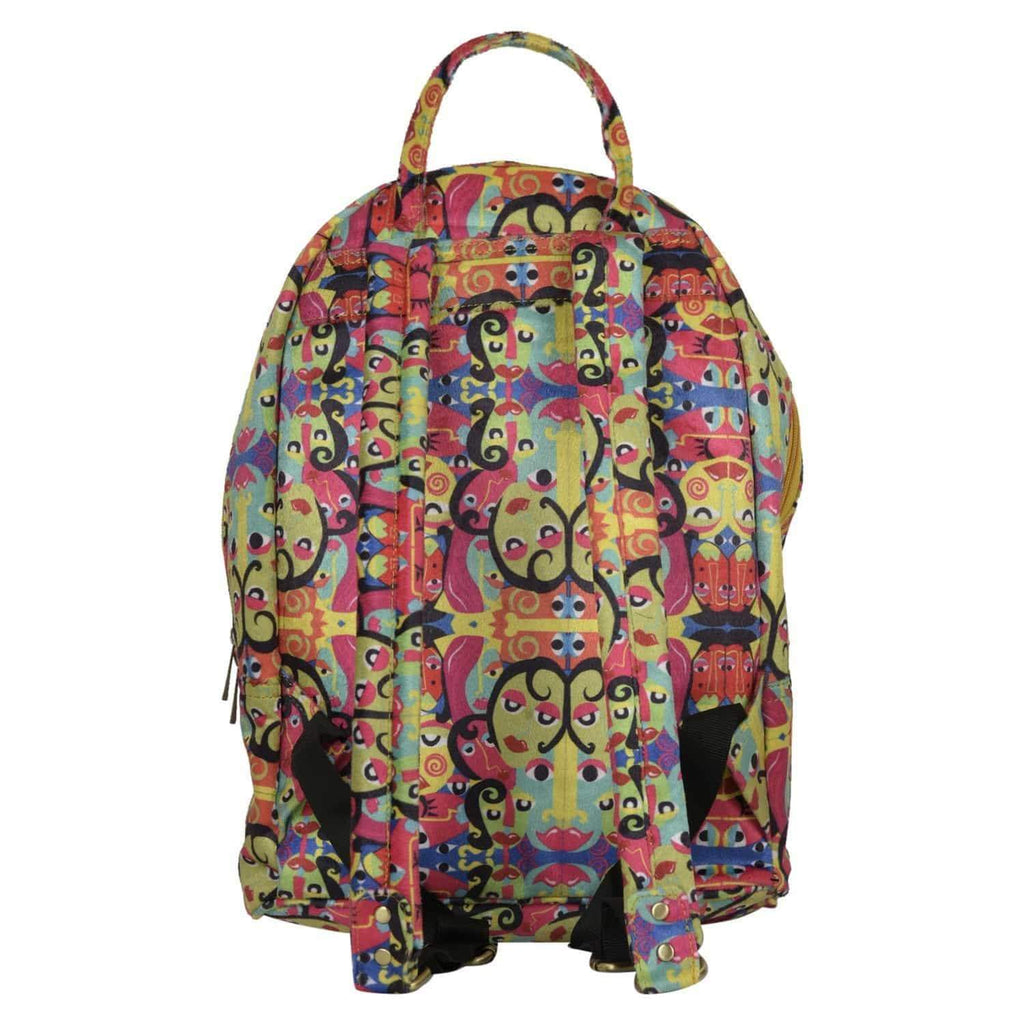 Quirky Printed Backpack by Gonecase ,backpack, gonecasestore - gonecasestore