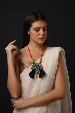 Bhadra Kaali Necklace by Gonecase