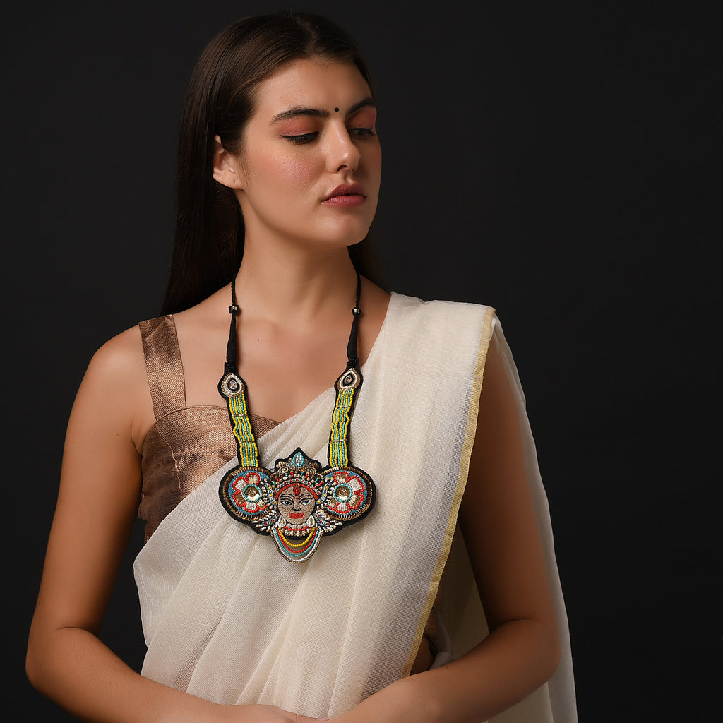 Davya Handcrafted Necklace by gonecase ,Necklace, gonecasestore - gonecasestore