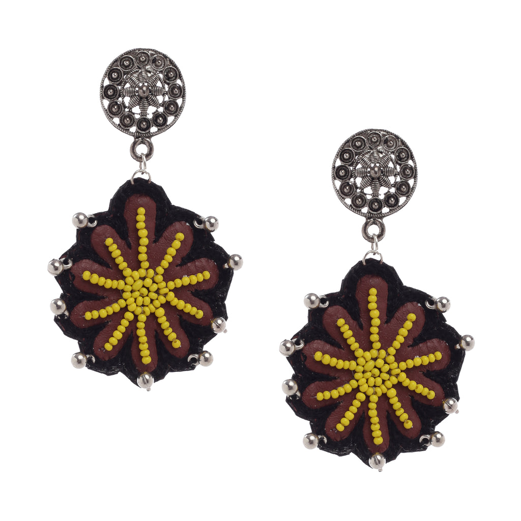 Madham Embroidered Earrings ,Earrings, GoneCase - gonecasestore