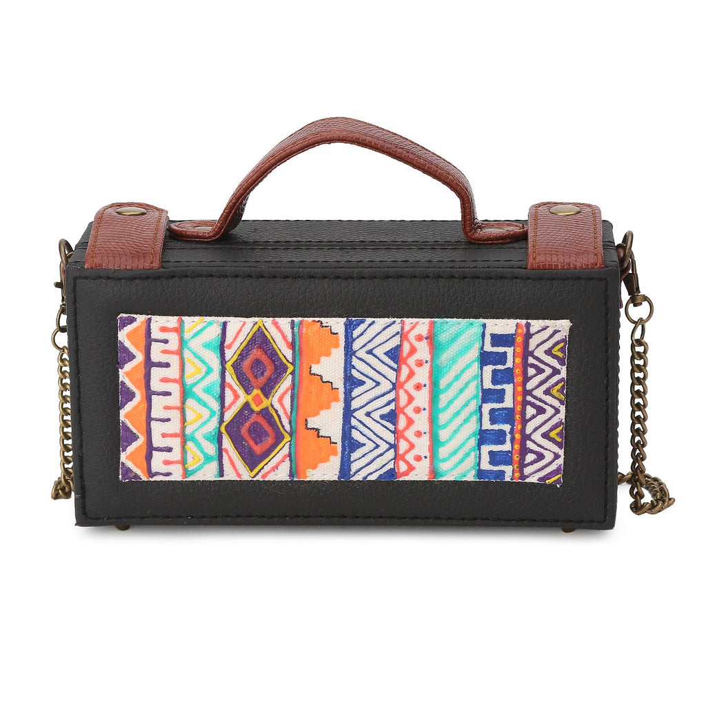 Dhaka Handpainted Clutch Bags ,, gonecasestore - gonecasestore