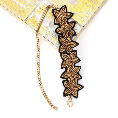 Golden Leaf Choker