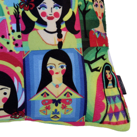 Doll Cushion Cover