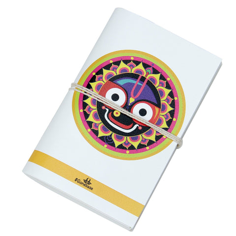 Jaggannath Printed Diary ,diary, gonecasestore - gonecasestore